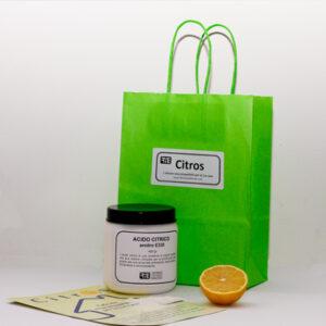 Citros - Acido citrico- prodotti ecologici per la casa