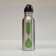 Borraccia acqua Mynox Verde in acciaio